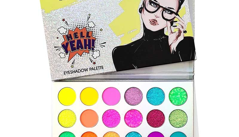 Hell Yeah - Neon Bright Colour eyeshadow palette