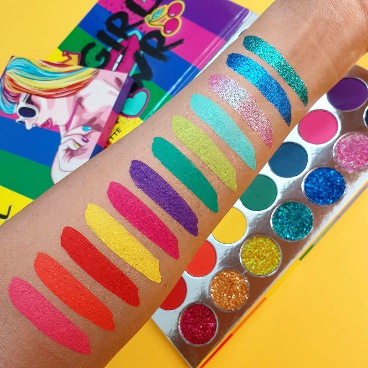 Girl Power - 35 shade eyeshadow palette