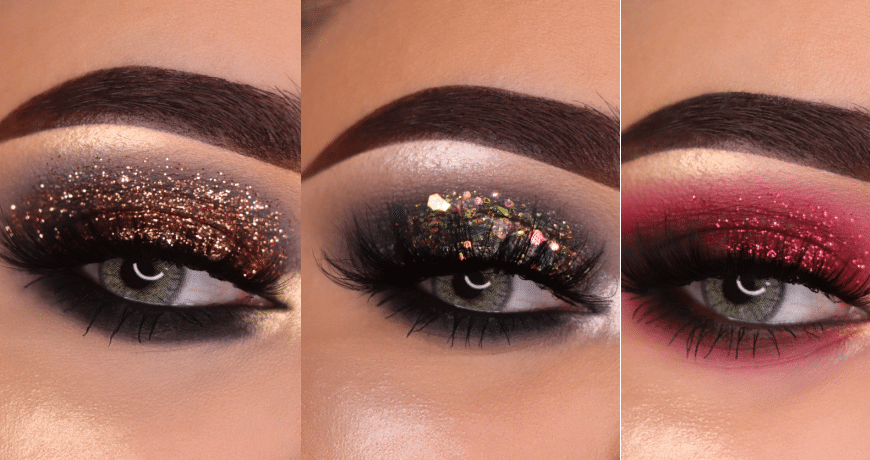 5 Christmas Makeup Looks to put you in the right Spirit.