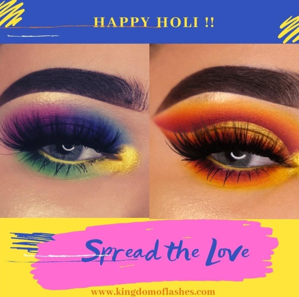 5 Eyeshadow looks to rock this Holi