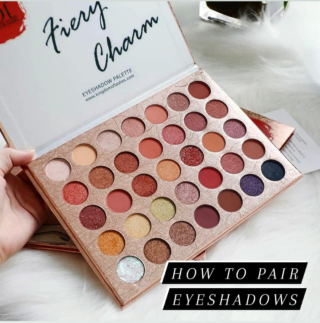 How to pair your eyeshadows like a pro?