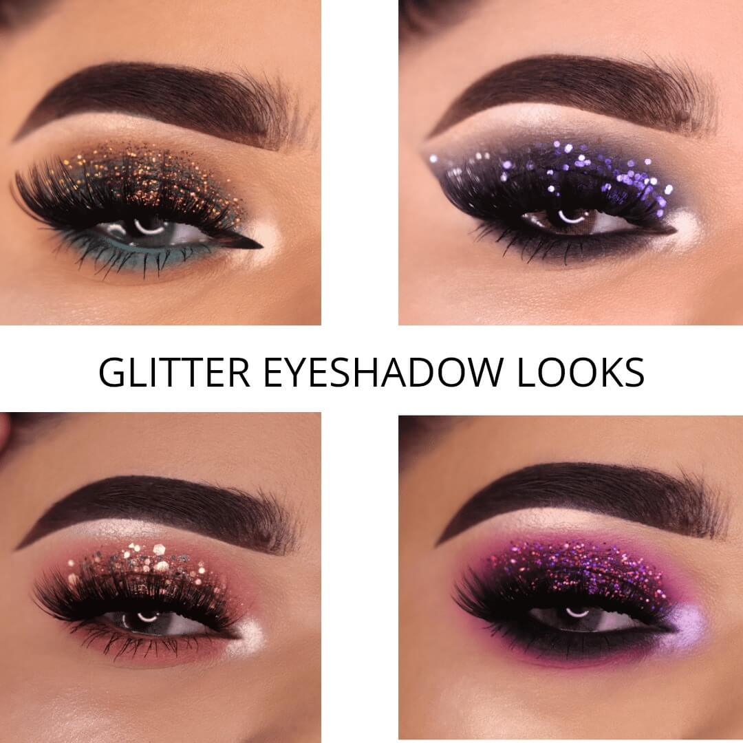 How to create exquisite glitter eyeshadow looks?