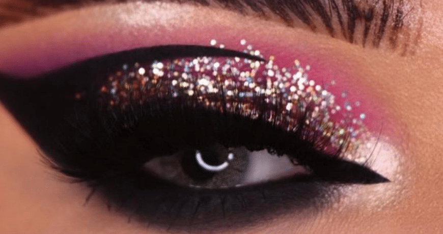 Pull Off Glitter Eyeshadow Like a Pro Tip 101: Make No Mess